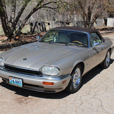 1996 XJS Convertible. Topaz/cream interior/brown. 70k miles. Award winner. Recently replaced front bumper. Photos on request. Asking $13,500. Due to health reasons I cannot fully enjoy this beautiful car. 307-674-5831, contact art1@vcn.com  (Bill Denton)