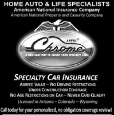 Chrome Speciality Car Insurance, Rocky Mountain Jaguar Club